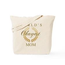 Unique World%27s greatest mom Tote Bag