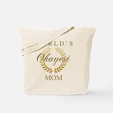Cute World%2527s okayest mom Tote Bag