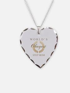 World%27s okayest mom Necklace