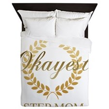 Cute Step mom Queen Duvet
