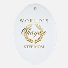 Cute Step mother Oval Ornament