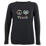 Peace teach Long Sleeves
