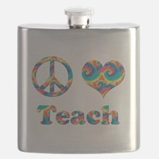 2-peace love teach copy.png Flask