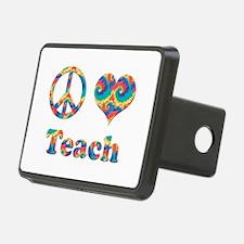 2-peace love teach copy.pn Hitch Cover