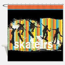 Cool Stunts Shower Curtain