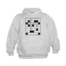 Cruciverbalist Crossword Lovers Hoodie