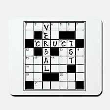 Cruciverbalist Crossword Lovers Mousepad