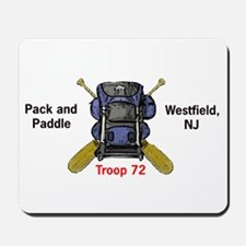 Pack and Paddle Mousepad