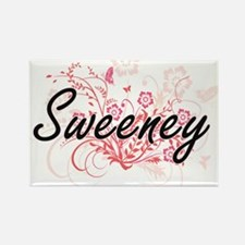 Sweeney surname artistic design with Flowe Magnets