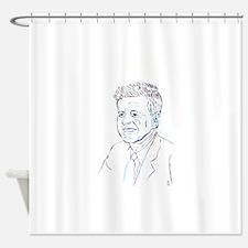 JFK - Bold Hues Shower Curtain