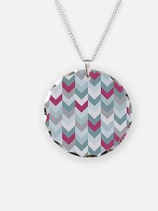 Chevron pattern seamless vec Necklace