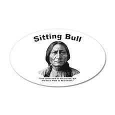 Sitting Bull: Lies Wall Decal