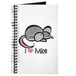 I Love Mice Journal