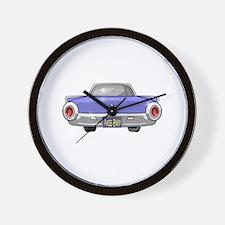 1961 Ford T-Bird Wall Clock