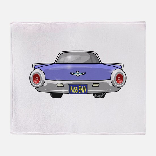 1961 Ford T-Bird Throw Blanket