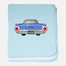 1961 Ford T-Bird baby blanket