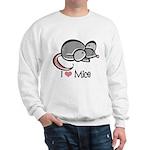 I Love Mice Sweatshirt
