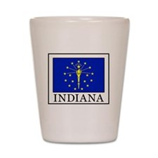 Cute Indiana Shot Glass