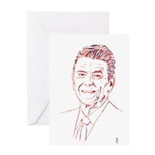 Reagan - Bold Hues Greeting Cards