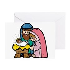 Cute Nativity Scene Greeting Cards (Pk of 10)