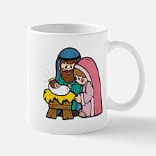 Cute Nativity Scene Mug