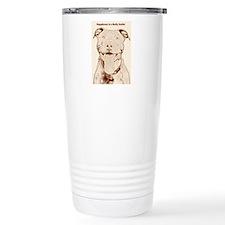Cute Pit bull Travel Mug