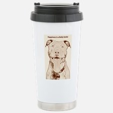 Unique Pit bull Travel Mug