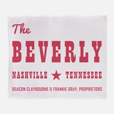 THE BEVERLY Throw Blanket
