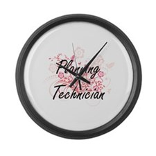 Planning Technician Artistic Job Large Wall Clock