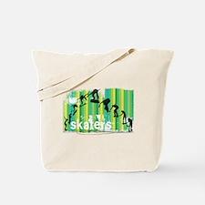 Cute Skateboard Tote Bag