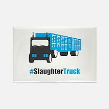 #SlaughterTruck Rectangle Magnet