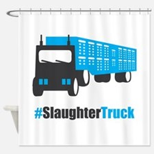 #SlaughterTruck Shower Curtain