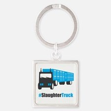 #SlaughterTruck Square Keychain