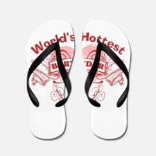 World's Greatest Bartender Flip Flops