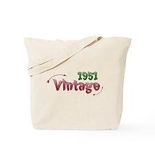vintage 1951 Tote Bag