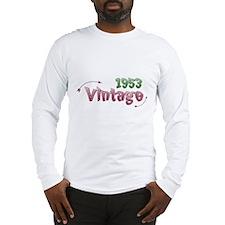 vintage 1953 Long Sleeve T-Shirt