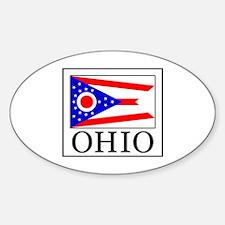 Cute Akron Sticker (Oval)