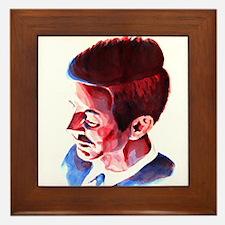 JFK - Solemn Framed Tile