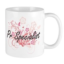 Pr Specialist Artistic Job Design with Flower Mugs