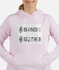 Cute Band flute Women's Hooded Sweatshirt
