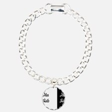 Her side/ his side Charm Bracelet, One Charm