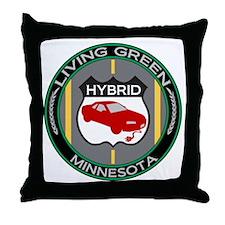 Living Green Hybrid Minnesota Throw Pillow