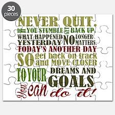 Never Quit Puzzle