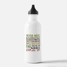 Never Quit Water Bottle