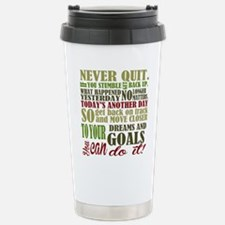 Never Quit Travel Mug