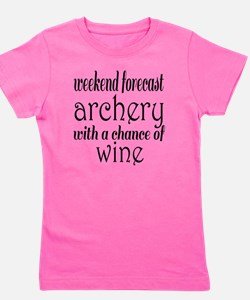 Funny Forecast Girl's Tee