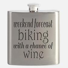 Cute Biker Flask