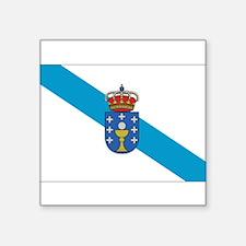 "Cute Galicia Square Sticker 3"" x 3"""