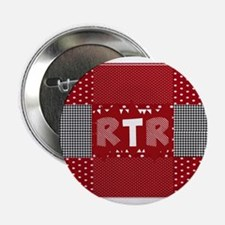 """RTR houndstooth 2.25"""" Button"""