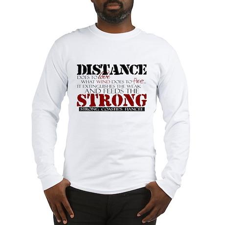 Feeds the strong: USCG Fiance Long Sleeve T-Shirt